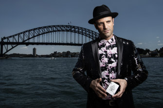 Magician James Galea takes back the word Poof!