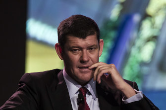 James Packer's Crown Resorts is in the crosshairs of Wynn Resorts.