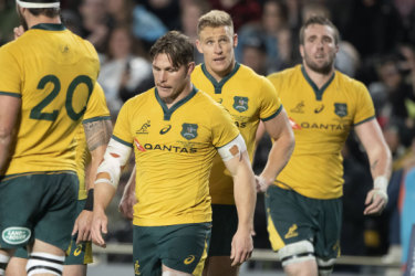 Poor form, Folau fractures and dwindling relevance leave Wallabies under the pump