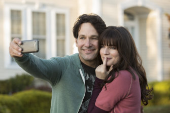 Dual personalities: Paul Rudd stars alongside Aisling Bea in Living With Yourself on Netflix.
