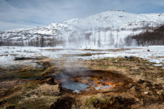 Iceland has been running on renewables for years – its water comes out of the ground piping hot.