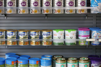The court heard the two men were involved in a gang who stole 'top shelf' baby formula.
