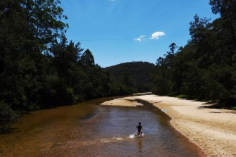 The Colo River, where a 32-year-old man died on a Sunday in December, 2018.