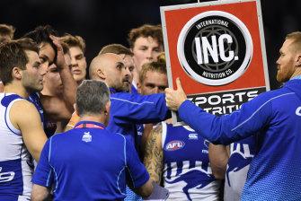 North Melbourne caretaker coach Rhyce Shaw.