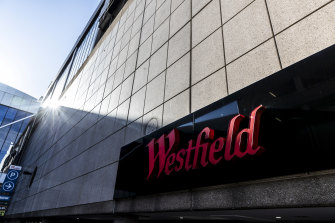 Shares in Westfield operator Scentre rose amid news of positive developments in the hunt for a COVID-19 vaccine.