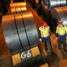 A year after the 'Trump bump', US steel slide hits home for BlueScope