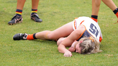 Giants' Irish import cleared of major injury after horror tackle