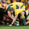 Typhoon delays Wallabies World Cup departure
