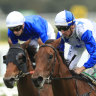 Grounded Kiwi phones a friend for The Bostonian in George Ryder Stakes
