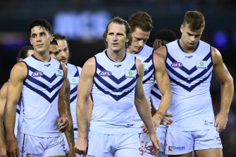 Dockers set sail: Fremantle have begun a nomadic life on the road as the AFL juggles fixtures.