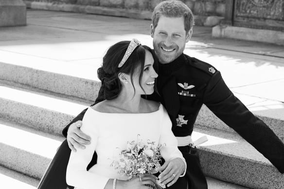 Palace releases royal wedding photos