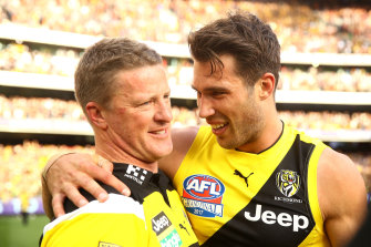 Tigers coach Damien Hardwick says he has put the prospect of Alex Rance returning to Richmond out of his mind.