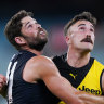 Richmond coach Damien Hardwick unhappy with team's performance but happy they played at all