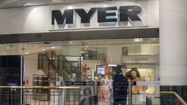 You can now head into Myer to collect an Amazon purchase.