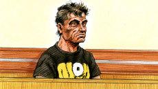 A court artist's sketch Savas Avan.