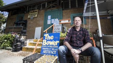The Bower's general manager, Guido Verbist, is fighting to keep the organisation open.