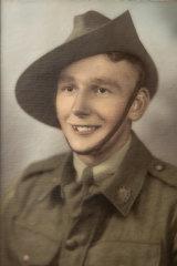 Allan Lorraine during World War II