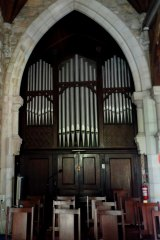 The pipe organ is the oldest in Queensland.