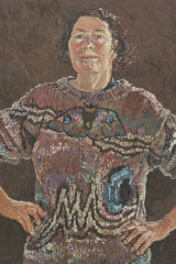 The painting that's grown on me: Lucy Culliton's Self (bogong moth jumper).