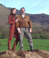 Jean Dujardin and Adele Haenel star in Deerskin.