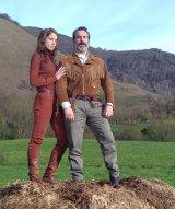 Jean Dujardin and Adele Haenel star in Deerskin.