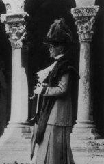 Mary Cassatt in Arles, France, circa 1912.