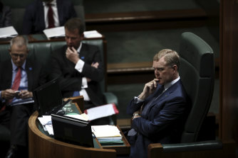 Speaker of the House Tony Smith coined the phrase 'sports rorts'