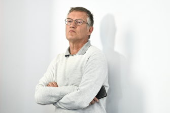 No change: Swedish State epidemiologist Anders Tegnell.