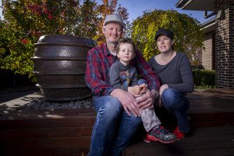 Neil Turner, Sarah-Louise Donovan and their son James have just moved to Gisborne.