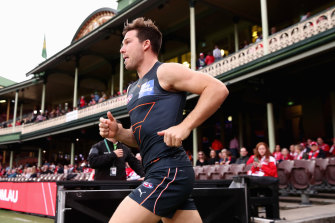 Toby Greene was on point as skipper and GWS were on point with new colours.