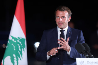 French President Emmanuel Macron is pushing ahead with demands for Lebanon rulers' to reform.
