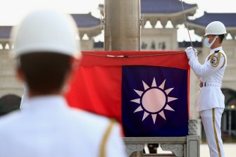 Tensions between China and Taiwan have been rising.