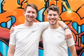 Former Atlassian employees Benjamin Humphrey and Brad Ayers have started a customer feedback platform which has scored backing from well known US and Aussie investors.