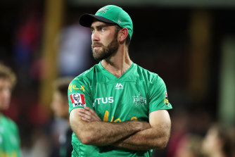 Stars captain Glenn Maxwell said the loss in this season's BBL final was harder to take than last year's collapse against the Renegades.