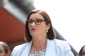 Not happy: Ms Mitchell rejects the Catholic sector's idea.