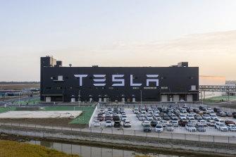 Tesla's new Gigafactory in Shanghai.