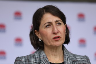 NSW Premier Gladys Berejiklian previously indicated international students were a priority.