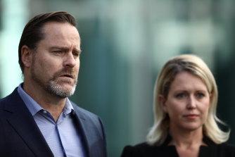 """""""We're not Afghanistan, we're Tasmania"""": Greens senator for Tasmania Peter Whish-Wilson."""