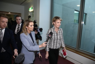 Ben Davies, a former chief of staff to Employment Minister Michaelia Cash, sued BuzzFeed and the Australian Workers' Union for defamation.
