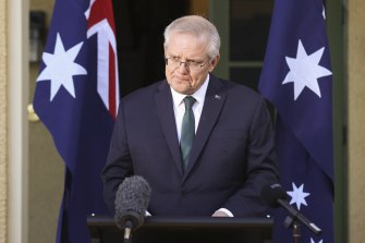 """Prime Minister Scott Morrison said Bill Shorten was playing """"cheap politics"""" by attacking his trip to Sydney."""