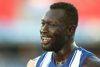 Majak Daw is hoping to continue his career at another club.