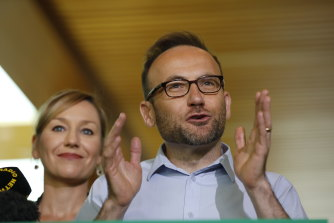 Member for Melbourne and Greens leader Adam Bandt.