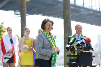 NSW Premier Gladys Berejiklian announced Sydney had been successful in securing the Netball World Cup for 2027 on Monday.