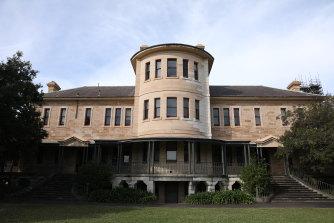 The historic Kirkbride complex at Callan Park.