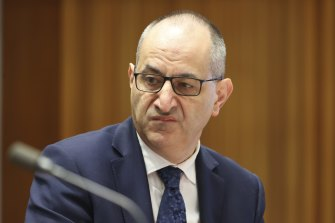 Department of Home Affairs secretary Mike Pezzullo says he has to be ready to reopen the international borders when governments direct it.