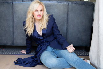 'I feel that I owe ATYP a lot': Rebel Wilson at her Los Angeles office.