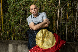 Steven Oliver says that traditionally, Aboriginal music 'was about teaching us identity'.