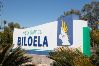 Biloela is named after the sulphur-crested cockatoo.