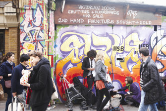 Brick Lane in London: an unlikely spot to find a neuroscientist at work?