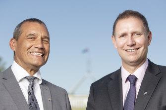 Australians of the Year 2019 Craig Challen and Richard Harris.